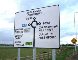 Lingua parlata in Irlanda
