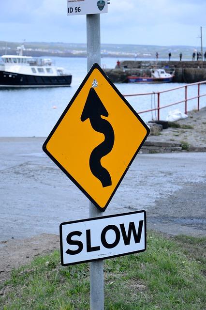 Cartello stradale in Irlanda
