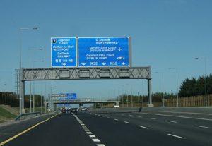 Autostrada M50 Dublino
