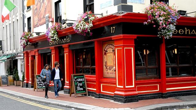 Un pub a Dublino