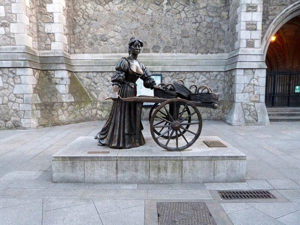 Statua di Molly Malone - Dublino Facile