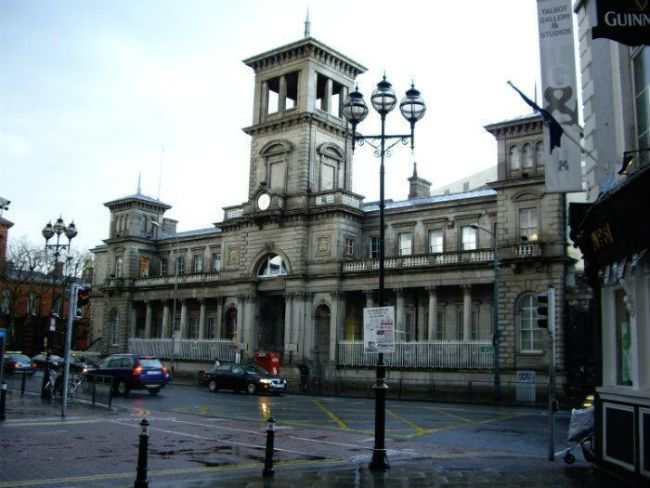Connolly Station in Amiens Street - Dublinofacile