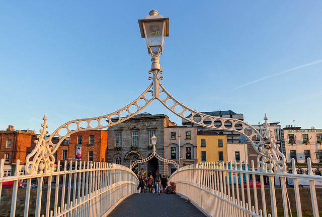 Dublino Ha'penny bridge