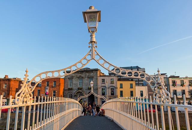 Dublino Ha'penny bridge
