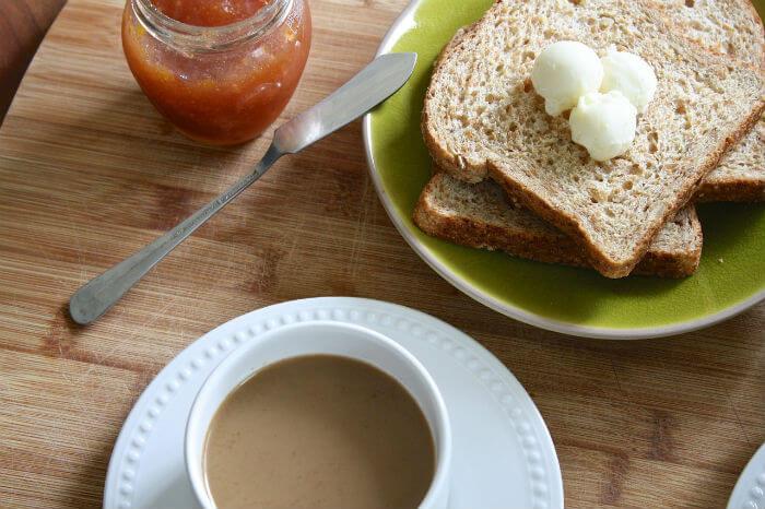 B&B Breakfast table - Dublinofacile